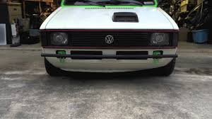 volkswagen rabbit truck interior 81 vw pickup caddy bumpers youtube