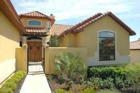 spanish style homes plans mexican influenced house plans from the house designers modern