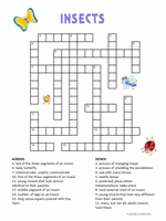 volcanoes crossword for kids