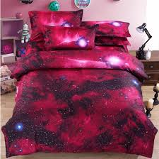 Space Single Duvet Cover 3 Hipster Galaxy 3d Bedding Set Universe Outer Space Themed Duvet