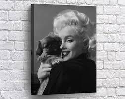 Marilyn Monroe Wall Decor Marilyn Monroe Decor Etsy