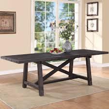 wooden dining room tables narrow dining room tables createfullcircle com
