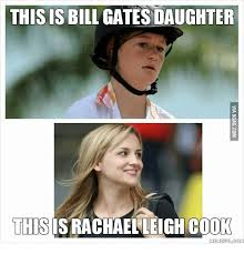 Cooking Meme - this is bill gatesdaughter this israchaelleigh cook meme fulcom