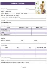 27 day care invoice template collection demplates