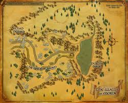 Lord Of The Rings World Map by Thorgnyr Walls Of Moria Bestiary Lord Of The Rings Online