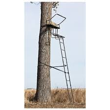 sniper 15 deluxe 2 ladder stand 592694 ladder tree stands