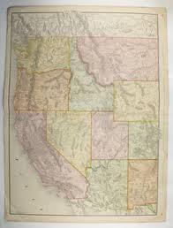 map of oregon nevada antique california map washington oregon map nevada idaho map