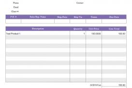 Basic Spreadsheet Template by Invoice Template Word Docx Basic Simple Format Excel Uk