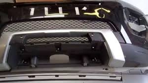 range rover front how to remove the front bumper trim on a range rover evoque youtube