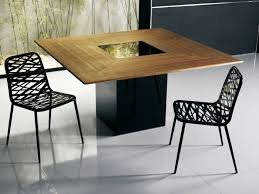 Contemporary Dining Table Contemporary Dining Table Wooden Square Fitzroy Modloft