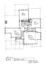 conceptual house plan 1459 two story craftsman houseplansblog check out the second floor plan of house plan 1459