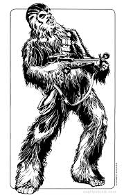 10 free star wars coloring pages chewbacca kylo ren finn rey