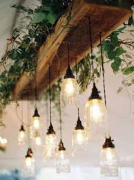 Light Bulb Chandelier Diy Reclaimed Wood Beams Best Diy Beams Chandeliers And Bar