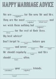 Advice Cards For Bride Advice For The Bride And Groom Cards Love By Serendipitydesigned