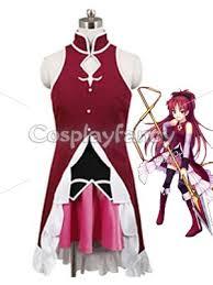 Sakura Halloween Costume Puella Magi Madoka Magica Cosplay Kyoko Sakura Cosplay Costume