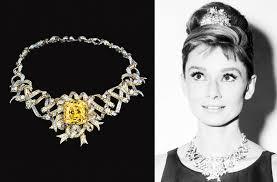 hepburn earrings highlighting diamonds in diamond necklace bracelets