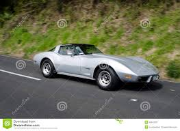 vintage corvette chevrolet corvette stingray coupe editorial photography image