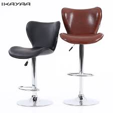 Bar Stool Height For 45 Counter Compare Prices On Leather Bar Furniture Online Shopping Buy Low
