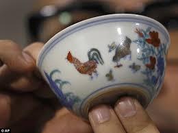 Ming Dynasty Vase Value Rare Ming Dynasty U0027chicken Cup U0027 Described As The U0027holy Grail U0027 Of