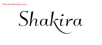 shakira archives page 2 of 2 free name designs