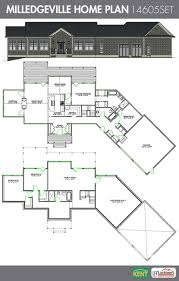 milledgeville 4 bedroom 3 bath home plan features large dual