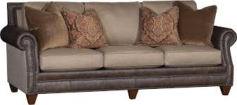 Leather And Upholstered Sofa Leather Fabric Sofas Radkahair Org Home Design Ideas