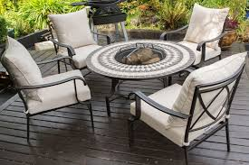 Patio Table With Firepit Outdoor Furniture With Pit Table Brilliant Popular Home