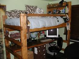 Build A Loft Bed With Desk by How To Build A Loft Beds With Desk Concept Information About