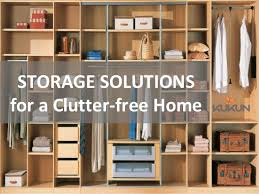 storage solutions that will keep your home clutter free
