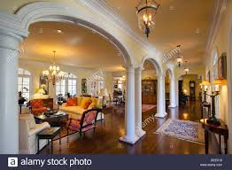 home interior usa luxury home interior in nashville tennessee usa stock photo