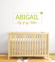 online store abigail personalized baby name meaning wall decals