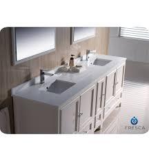 60 Double Sink Bathroom Vanity Reviews Fresca Fvn20 361236aw Oxford 84