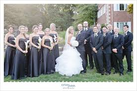 black and white wedding black and white wedding party