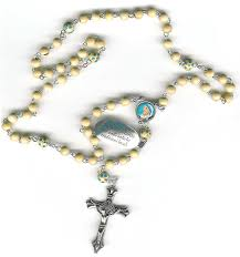 free rosaries free rosary and pope postcard with teresa rosaries