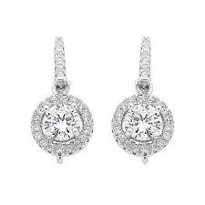 cubic zirconia drop earrings sterling silver cubic zirconia hook drop earrings drop earrings