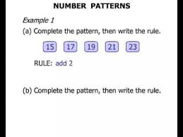 2nd grade number patterns youtube