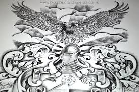 creating your own coat of arms dark design graphics graphic