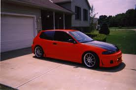 custom honda hatchback honda civic hatchback 1995 review