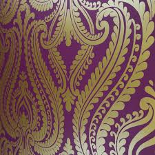 Purple Damask Wallpaper by I Love Wallpaper Shimmer Damask Metallic Wallpaper Purple Gold