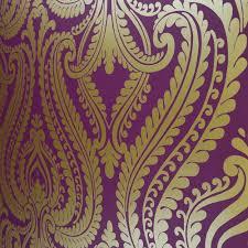 Purple Damask Wallpaper i love wallpaper shimmer damask metallic wallpaper purple gold