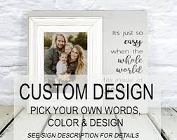 Personalized Wedding Photo Frame Create Picture Frame