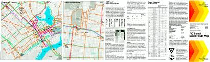 Berkeley Map Maps Ac Transit