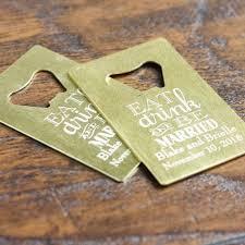 personalized bottle opener wedding favor best 25 credit card bottle opener ideas on