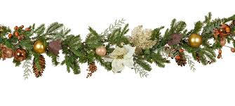 Christmas Garland With Lights by Decorative Garland Vermont White Battery Operated Led Christmas