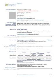 Lebenslauf Vorlage Usa Bewerbung Usa Resume Muster