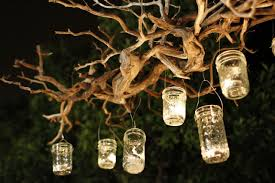 decoration gorgeous hanging lighting idea for backyard 25 clear