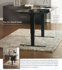 Adjustable Stand Up Sit Down Desk by 1 Contemporary Furniture New Product Page