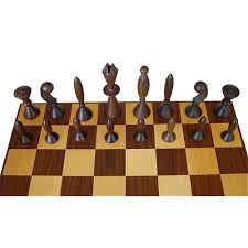 universum space age chess set arthur elliott for anri w box