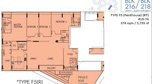 interlace floor plan the interlace condo 4 bedroom penthouse homebuyer singapore