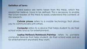 gadgets definition effects of technological device to students